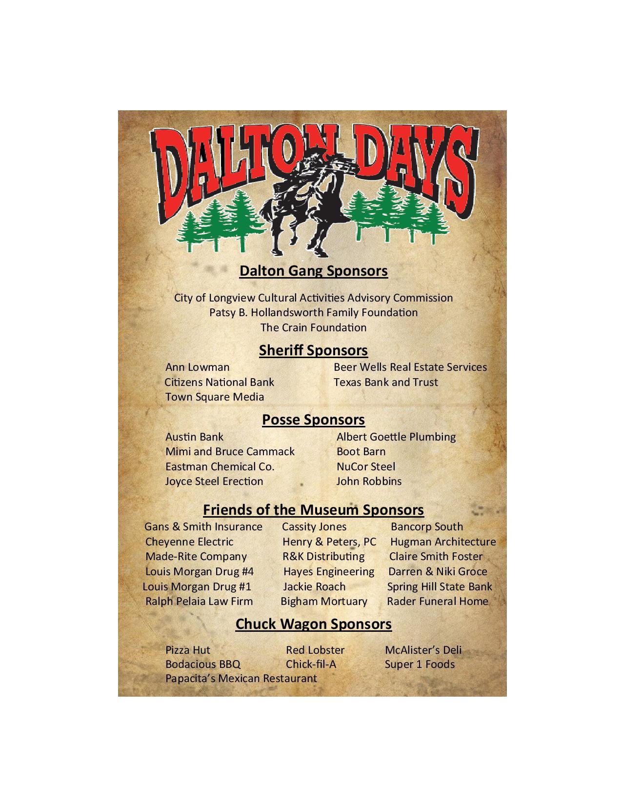 Dalton Days