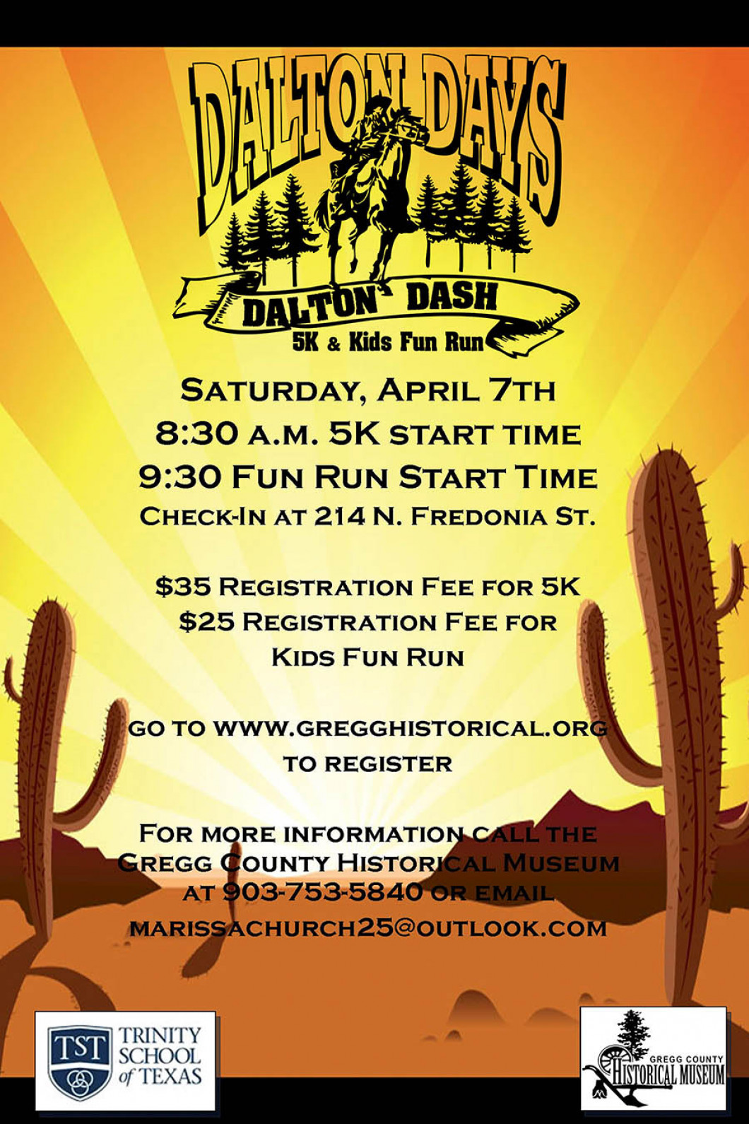 DALTON DASH 5K & KIDS FUN RUN